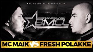 BMCL Battle: MC Maik vs. Fresh Polakke (Video)