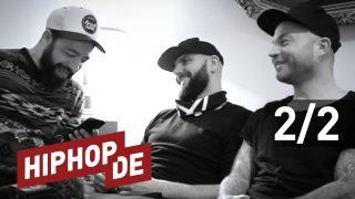 Chakuza & Bizzy Montana über Fler, RAF Camora, Bushido, Nazar & FVN-Sampler (Video)